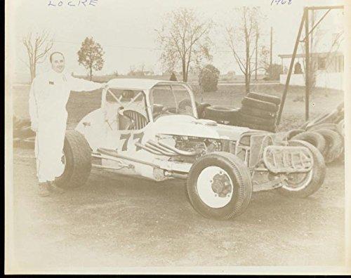 Locke #77 Sportsman Race Car-Photo 1968 8x10 ()