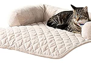 Amazoncom sofa bolster pillow furniture cover for pets for Bolster pillow furniture cover for pets