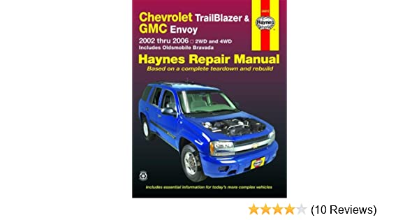 chevy trailblazer gmc envoy 2002 2006 haynes repair manual ken rh amazon com 2004 Chevy Trailblazer Parts List Diagram for 2006 Chevy Trailblazer Transmission