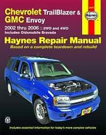chevy trailblazer gmc envoy 2002 2006 haynes repair manual ken rh amazon com Haynes Repair Manuals Mazda Haynes Repair Manuals Mazda