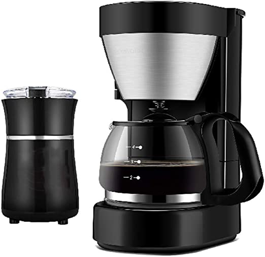 LTLWSH Máquina de Café, 600W Cafetera de Filtro con Filtro ...