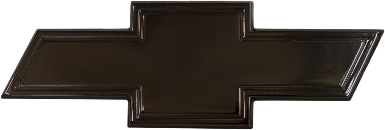 Black Powder coat 1 Pack AMI 96130K Chevy Bowtie Grille /& Lift gate Emblem with Border