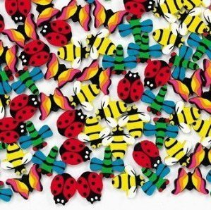 Game / Play 144 Mini Insect Erasers, gumball, machines, wending, fish, pond, games, arts, novelty, fish, pond Toy / Child / - Fish Eraser