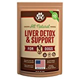 Cheap Liver Support for dogs, Milk Thistle for dogs and cats, supplement without capsules, pills| Made in USA