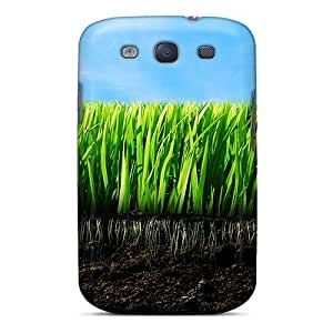 Special OscarAPaz Skin Case Cover For Galaxy S3, Popular Empty Grass Phone Case