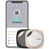 Sleutelvinder, 2-in-1 Bluetooth Tracker Key Finder ondersteunt iOS/Android, Smart One Touch sleutelvinder wordt gebruikt…