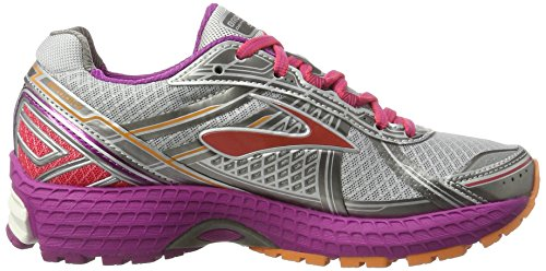 Women's Paradise Pink Running Defyance 9 Silver Brooks Silver Charcoal Shoes wqE8x
