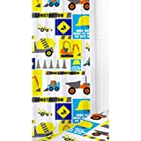 Other Childrens/Kids Digger Curtains (One Size) (Multicoloured)