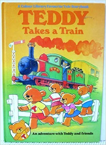 Teddy Train Book