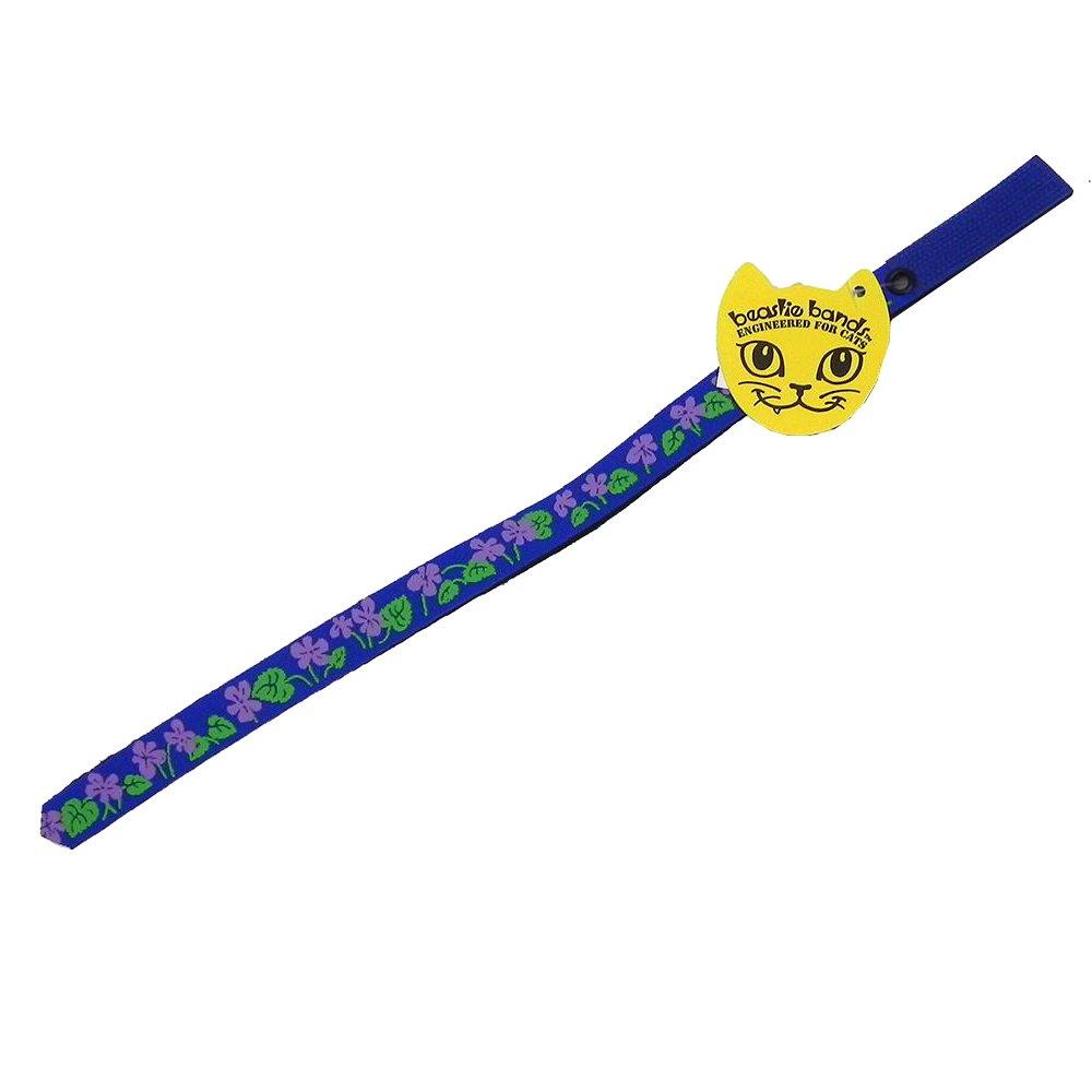 Beastie Bands Cat Collar, Violets
