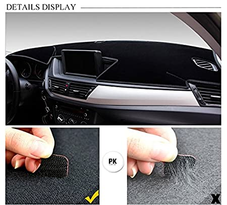 Amazon.com: FLY5D 2011-2014 Ford FOCUS ST Dash Cover Dashboard Cover Mat Dash Pad (Ford FOCUS ST , Black): Automotive
