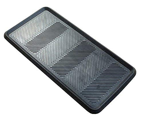 Iron Gate - 2 Pack - Big Foot - Heavy Duty Boot Tray - 16x32 Inch- Indoor or Outdoor Use - 100% Rubber Construction - Multi Purpose - All Weather Indoor or Outdoor Usage (Large Rubber Tray)