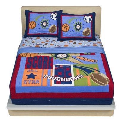 Amazon.com: Circo Sports Quilt Set - Twin: Home & Kitchen : circo quilt - Adamdwight.com