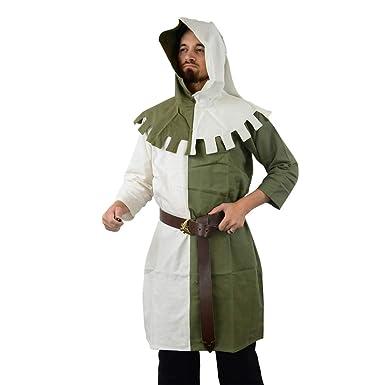 Amazon com: Armor Venue 14th Century Two-Tone Hood: Clothing