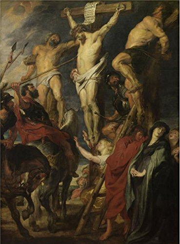Oil Painting 'Peter Paul Rubens,Christ Crucified,1577-1640', 18 x 24 inch / 46 x 62 cm , on High Definition HD canvas prints is for Gifts And Foyer, Game Room And (Luke Skywalker Costume Uk)