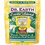 Dr. Earth Exotic Blend Palm, Tropical & Hibiscus Fertilizer Polybag, 4 lb
