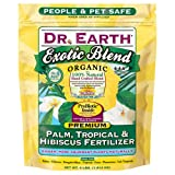 buy Dr. Earth Exotic Blend Palm, Tropical & Hibiscus Fertilizer Polybag, 4 lb now, new 2018-2017 bestseller, review and Photo, best price $13.99