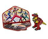 DecoPac Power Rangers Dino Charge Zord Cake Topper Set, Red