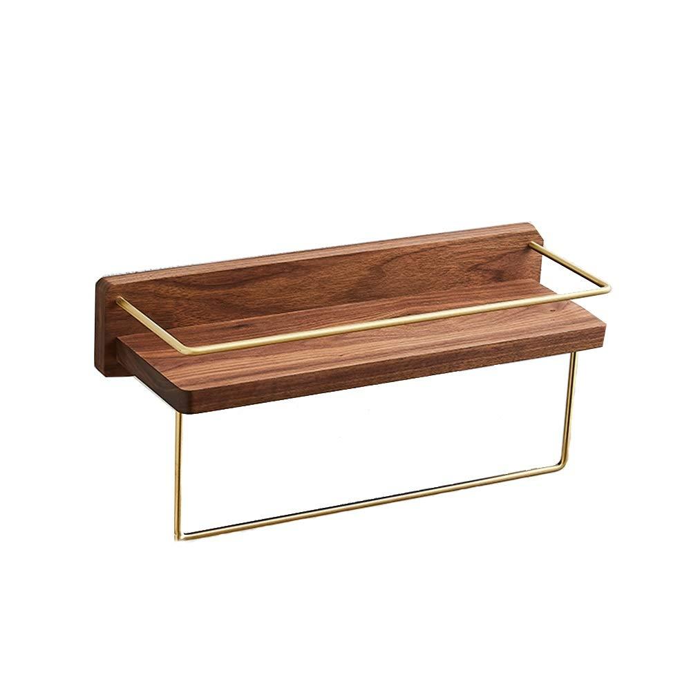 Xyanzi ウォールシェルフ、浴室トイレ化粧品仕切りのための固体真鍮収納ラック (サイズ さいず : 40 cm 40 cm) B07R1KQ2XZ  40 cm 40 cm