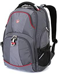 """Backpack,15"""" Laptop, Scan Smart - Grey( 18 x 13.5 x 9.0 in )"""