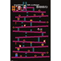 Nintendo Donkey Kong (NES) Maxi Poster, Multicolore, 61 x 91,5 cm