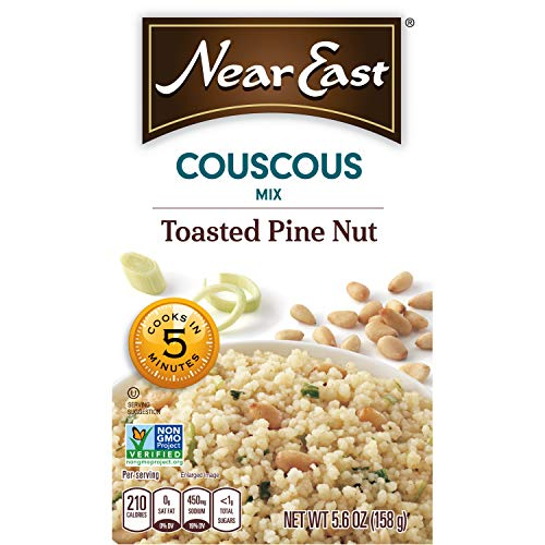 - Near East Couscous Mix, Toasted Pine Nut (Pack of 12 Boxes)