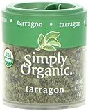 Simply Organic Mini, Og, Tarragon Leaf C/S, 0.11-Ounce (Pack of 6)