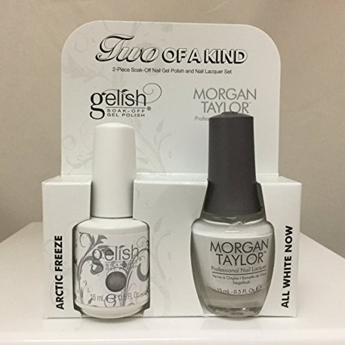 Gelish Core Duo Arctic Freeze and All White Now Nail Polish