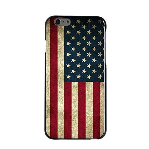 CUSTOM Black Hard Plastic Snap-On Case for Apple iPhone 6 PLUS / 6S PLUS (5.5