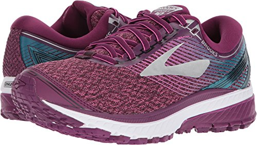 Brooks Women's Ghost 10 Purple/Pink/Teal 7 B US