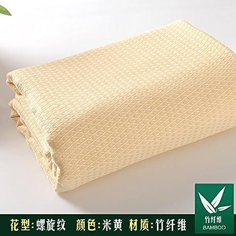 Upper-Toallas de fibra de bambú, verano mantas, mantas, toallas de algodón, mantas de verano: Amazon.es: Hogar
