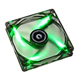 BitFenix BFF-BLF-P12025G-RP Spectre PWM 120mm LED Case Fan, Green