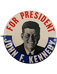 1960 John F Kennedy For President Classic Campaign Button Original
