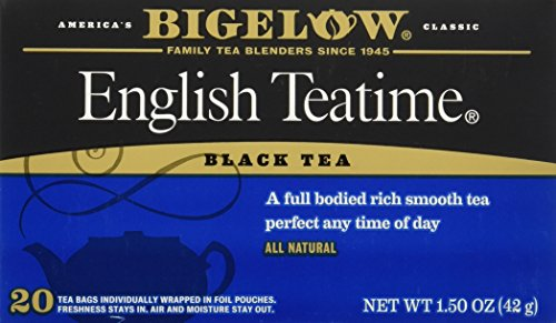 Bigelow Tea - 3 Packs of 20 Bags English (Bigelow Black Tea)