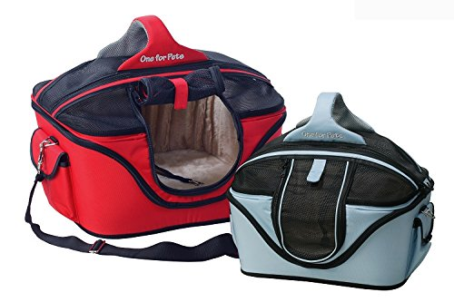 One One One for Pets The Cozy Pet Carrier, Piccolo, Rosso a6e40b