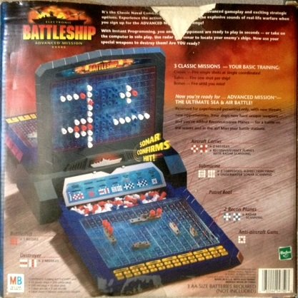 Electronic Battleship Advanced Mission by Milton Bradley