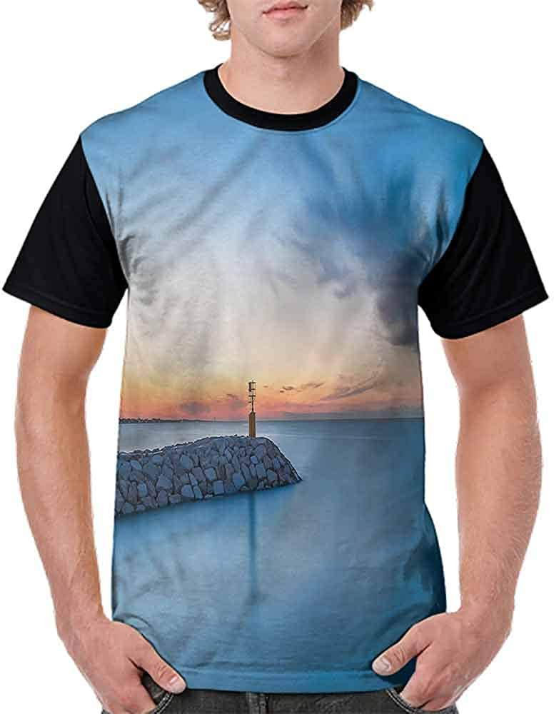 Casual Short Sleeve Graphic Tee Shirts,Colorful Summer Snorkel Ball Fashion Personality Customization
