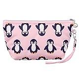MINICAT Cartoon Animal Series Cotton Makeup Zip Bags Travel Smart Hand Pouch Bag For Women
