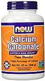 NOW Foods Calcium Carbonate, 12 Ounces