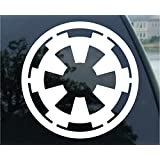 Galactic Empire Star Wars Car Window Vinyl Decal Sticker 4 Wide by SoCoolDesign