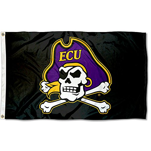 College Flags and Banners Co. East Carolina Pirates Pirate Flag
