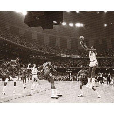 Michael Jordan In Action Sports Poster Print