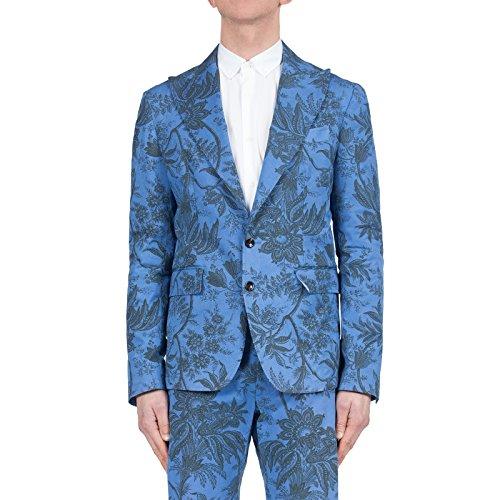 TWO ITALIAN BOYS - Uomo Giacca Brancia 01, Colore: Blue, Taglia: 48