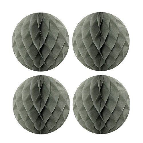 Wrapables Tissue Honeycomb Ball Party Decorations for Weddings, Birthday Parties, Baby Showers and Nursery Decor (Set of 4), 8