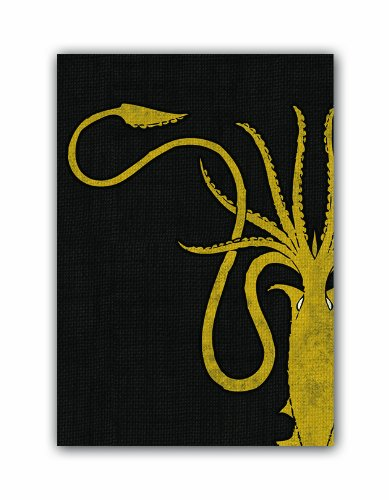 Thrones Art Sleeves House Greyjoy  Pack of 50 Sleeves