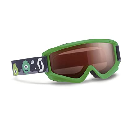 1eacbd3e7a Amazon.com   Scott 2016 17 Youth Agent Junior Winter Snow Goggles -  Amplifier Lens - 239997 (Green - Amplifier Lens)   Sports   Outdoors