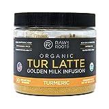 #9: Raw And Root - TUR LATTE - Organic Turmeric Latte Mix, Makes Turmeric Golden Milk - 45 servings / 180g - Anti-Inflammatory, USDA Organic, Non GMO, Vegan, Gluten-free
