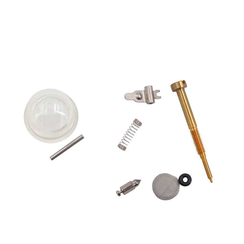 Fesjoy Carburettor Diaphragm Rebuild Repair Kit Carburetor Carb Diaphragm Gasket for Husqvarna GX135 139 26//33//43//52CC