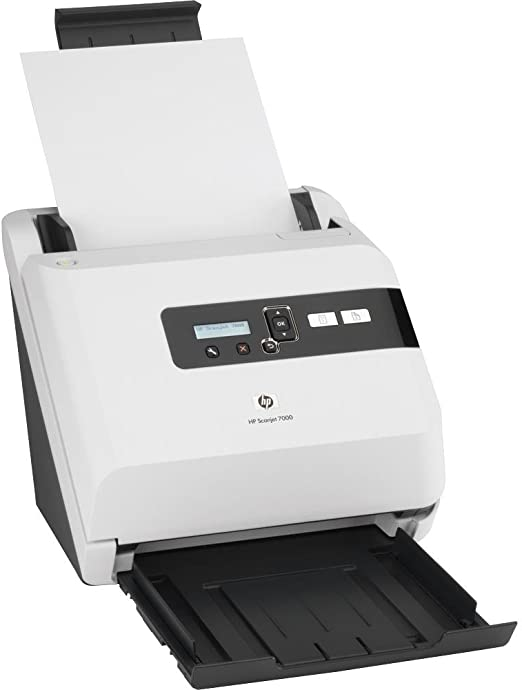 HP - Escáner (alimentación de hojas 7000, alimentación de hojas, 600 x 600 DPI, Charge Coupled Device (CCD), 216 x 864 mm, 7.2 kg, 40 W): Amazon.es: Informática