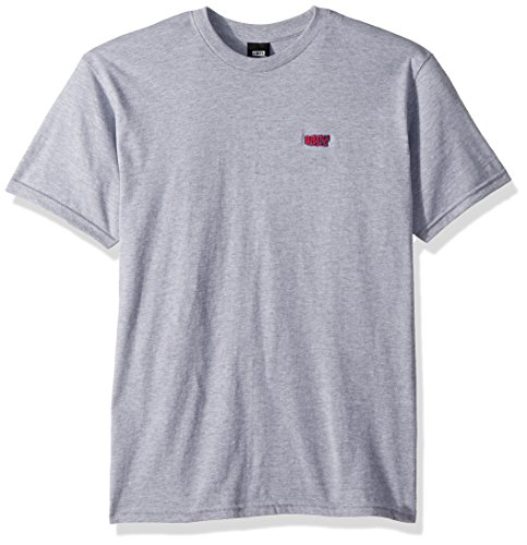 Obey Men's Better Days Short Sleeve Crewneck T-Shirt, Heather Grey, M